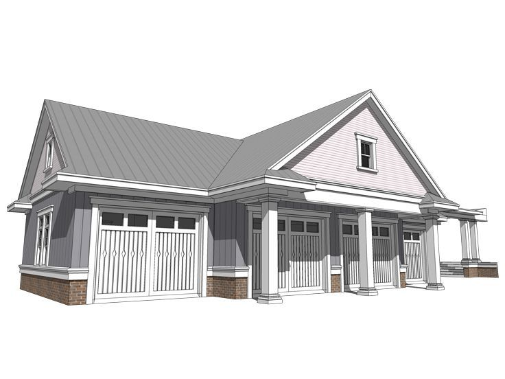 28 Best Country Style Garage Plans Images On Pinterest