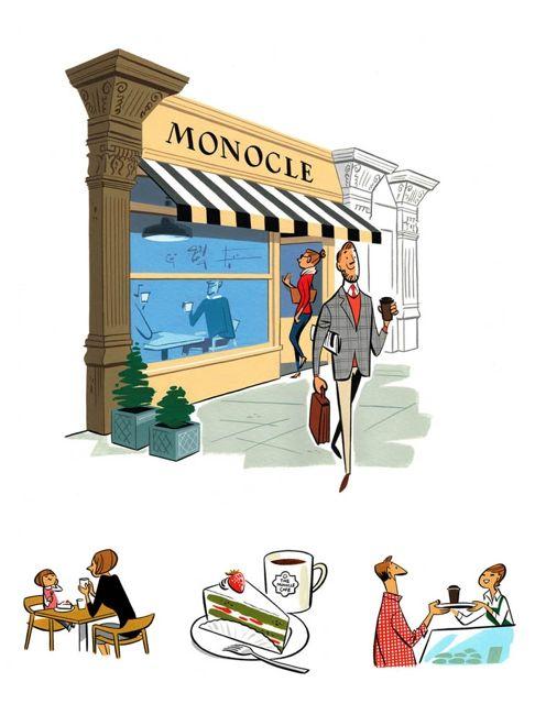 City Guide : Monocle Magazine illustrated by Satoshi Hashimoto…