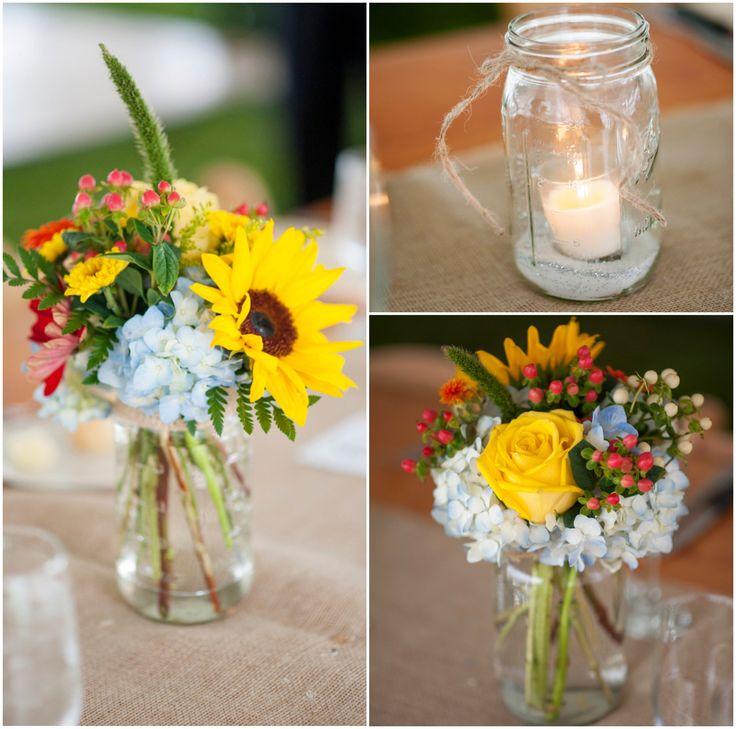 Country Wedding Flower Ideas