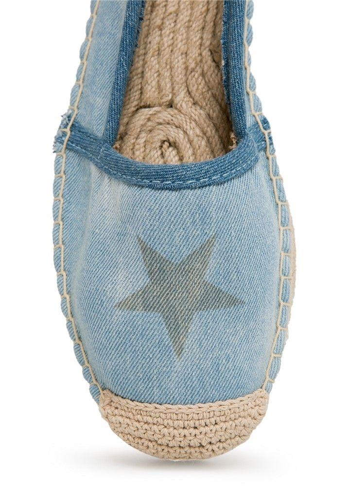 Zapatillas de esparto con estrella de Mango
