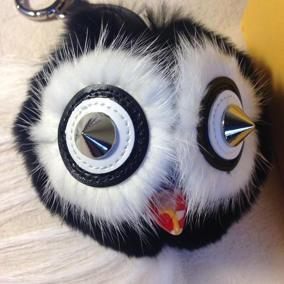 Owl bag bug charm Comes with box. NEW. Price firm unless you want it without box FENDI Bags