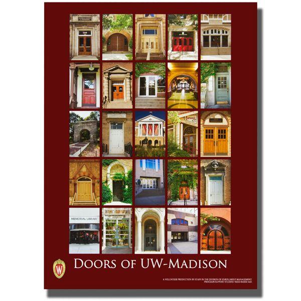 Doors of UW Madison Poster. Badger