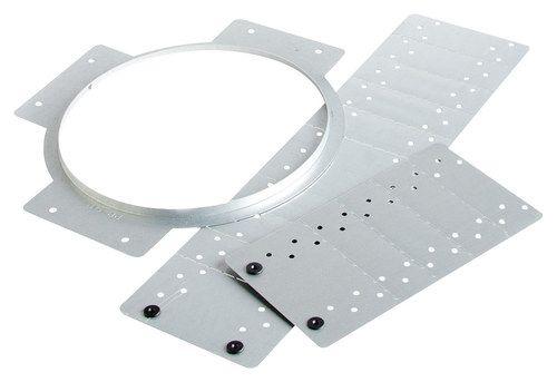 MartinLogan - Rough-In Speaker Brackets for MartinLogan ML-67 and ML-67i In-Ceiling Speakers (2-Pack) - Metallic (Grey)