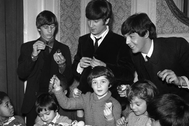 Charity discovers rare pictures of The Beatles with orphan kids - Liverpool Echo