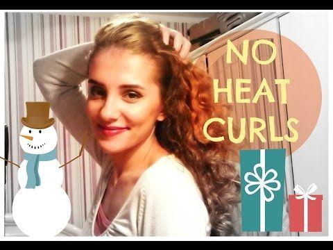 ▶ Natural Curls No Heat, Easy Bun - Bucle Naturale fara Placa, Coc Rapid - YouTube