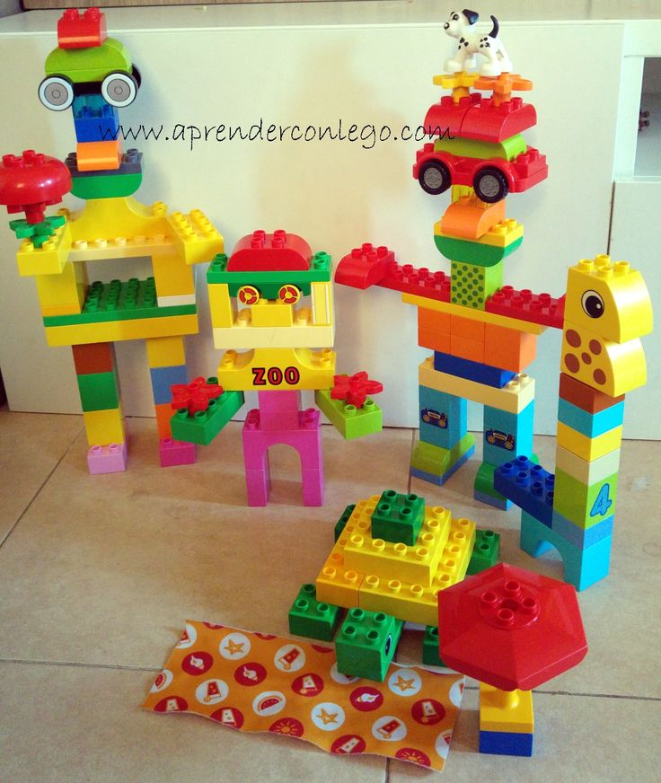 Familia robot Pipu - Lego Duplo #legoduplo