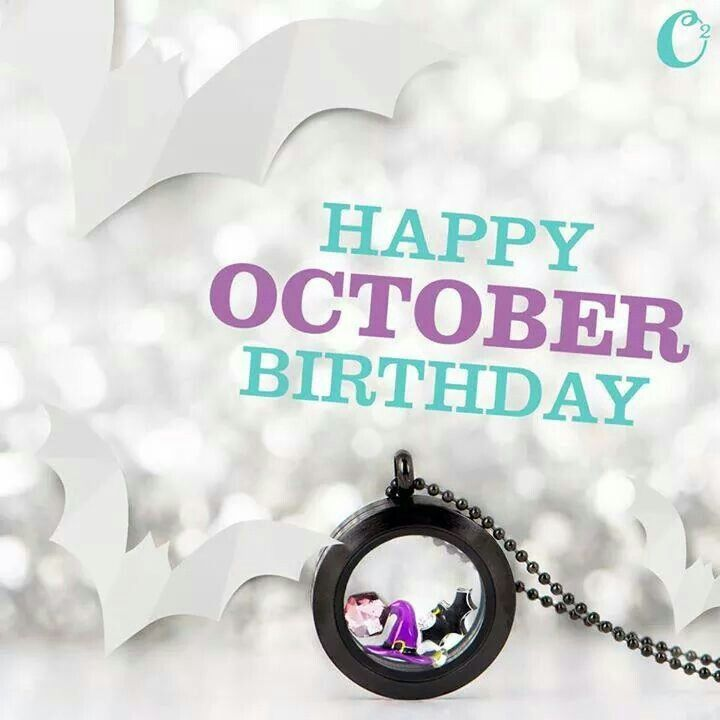 51 best october images on pinterest happy birthday