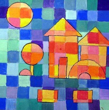 Paul Klee inspired