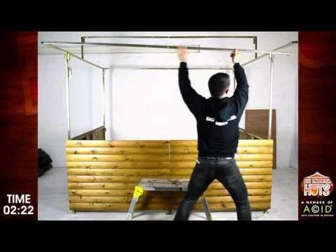 Big Kahuna Street Food Stall  - Set Up Time - YouTube