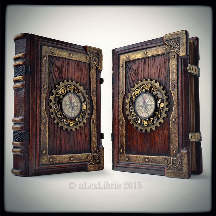 Large Steampunk Journal by aLexLibris