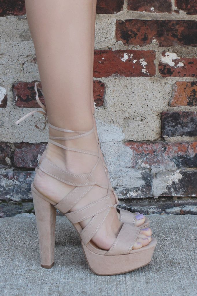 Open Toe Strappy Self Tie Lace Up Heels Gala-04