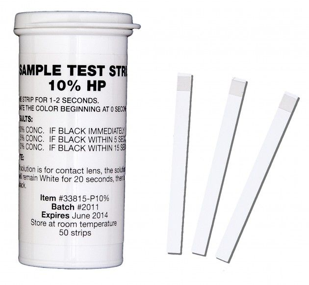 Instructions glucose test strips