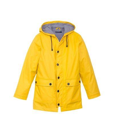 Women's coated cloth raincoat Jaune yellow - Petit Bateau
