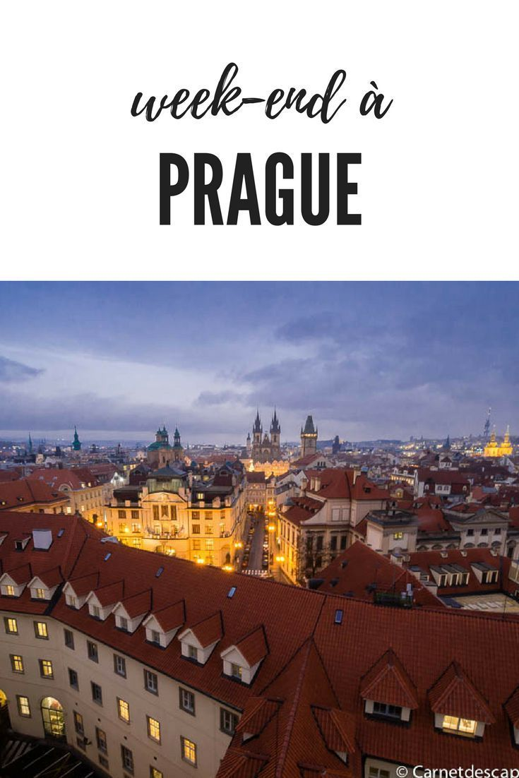 Visiter Prague en un week end Itinraire