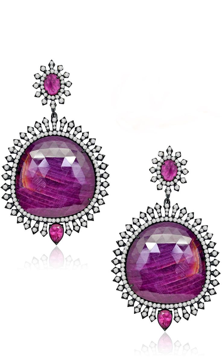 {daily Jewel} Pink Sapphire Earrings By Sutra