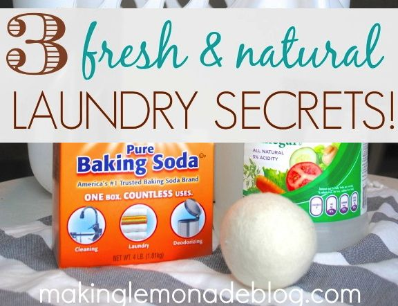 All Natural Laundry Tips!