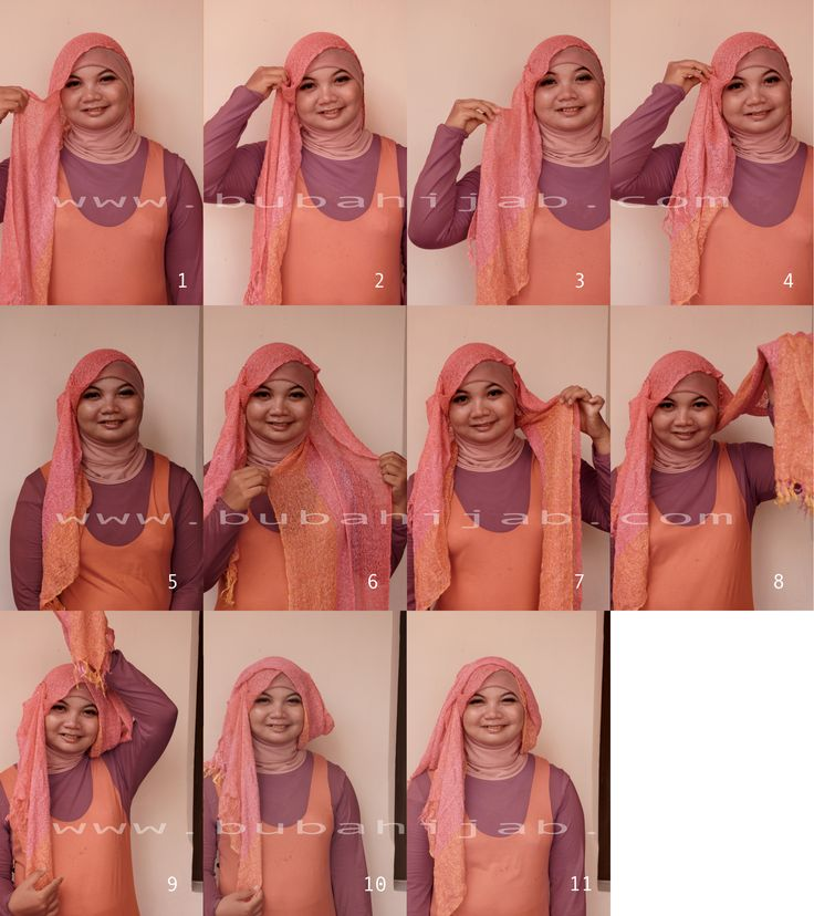 ... Tutorial on Pinterest | Muslim women, Turban style and Simple hijab