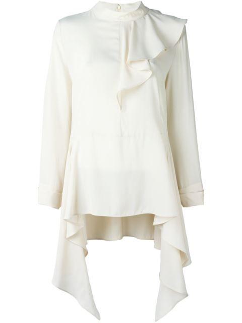 Marni блузка с оборками
