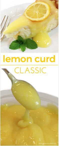 Classic Lemon Curd: simultaneously sweet and mouth-puckeringly tart. Eggs, lemon juice, sugar and pure butter combine to silky smooth perfection.