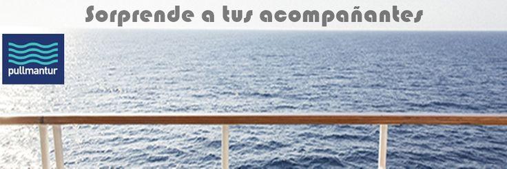 Con Pullmantur siempre puedes sorprender a tus acompañantes con un detalle a la llegada al barco  www.echeydetravel.com