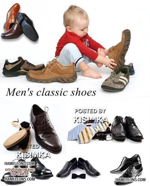 Клипарты ботинки для детей