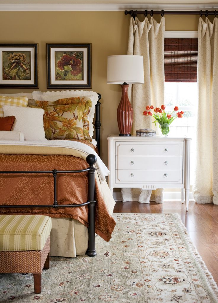 wall color Sherwin Williams  Stonebriar    quite nice  but still a little  too yellow for me  This is probably the best photo of Stonebriar. Best 25  Warm bedroom colors ideas on Pinterest   Bedroom wall