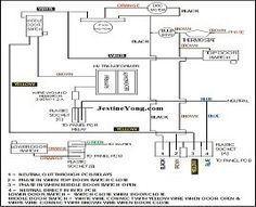 Wiring Diagram Of Samsung Microwave Oven In 2020 Samsung