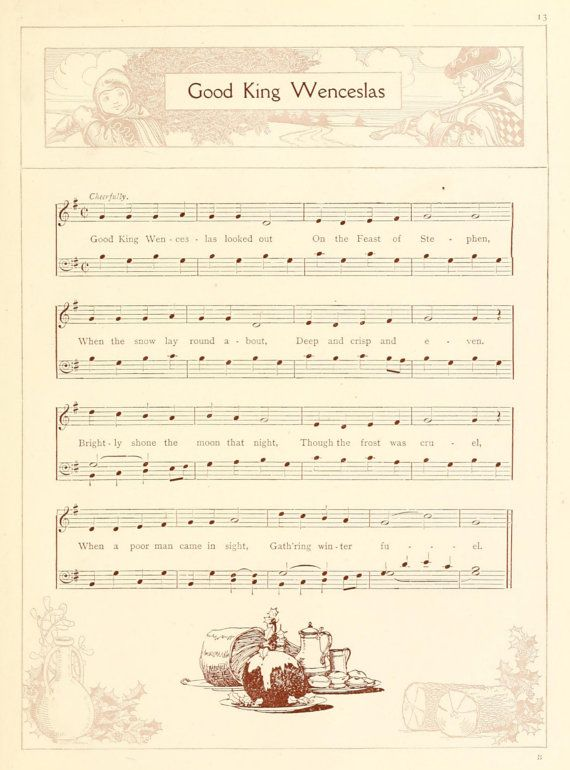 53 best harp images on pinterest sheet music harp and music notes bargain price for christmas sheet music for scrapbooking or card making fandeluxe Images