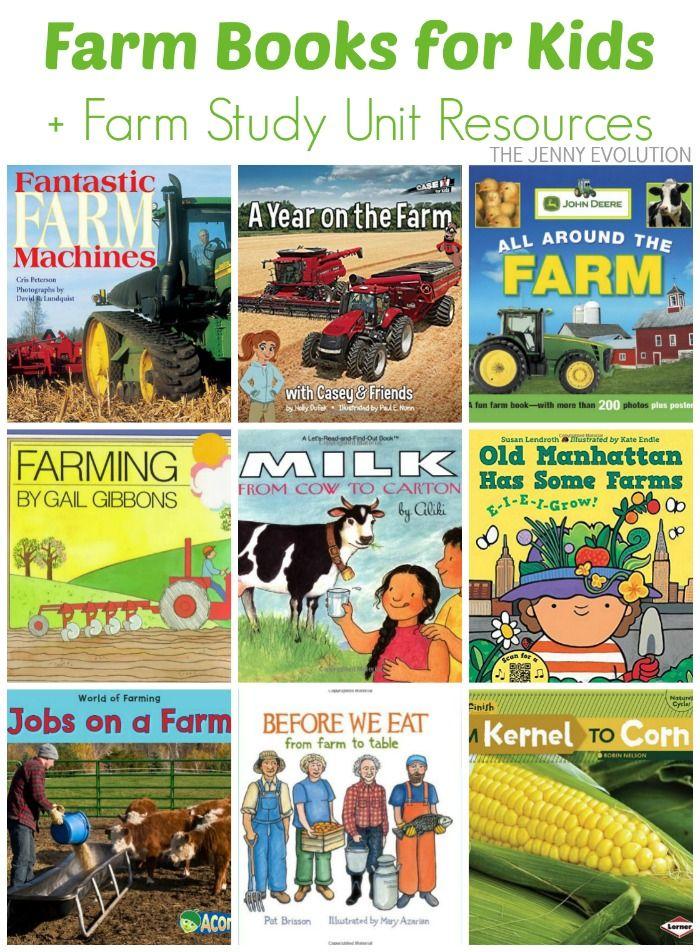 Farm Books for Kids (Farm Study Unit)