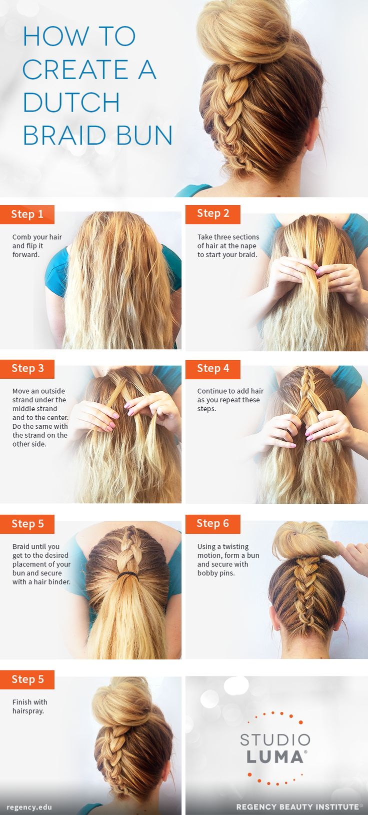 French braids are classic, but we're always up for new takes on the style. Like this dutch braid bu