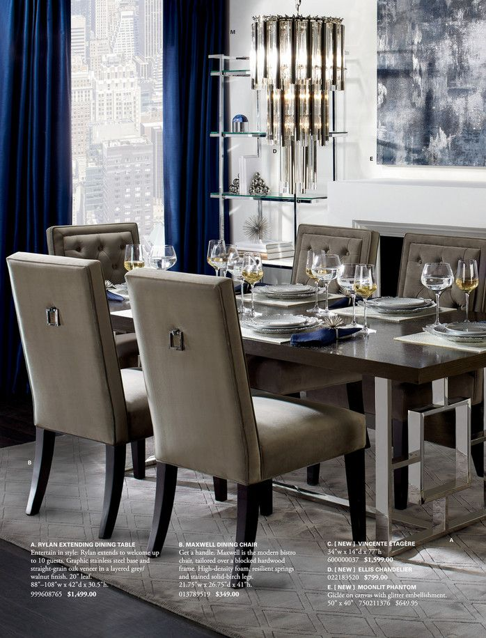 Z Gallerie Beautiful Design For Everyone Page 4 5 Dining