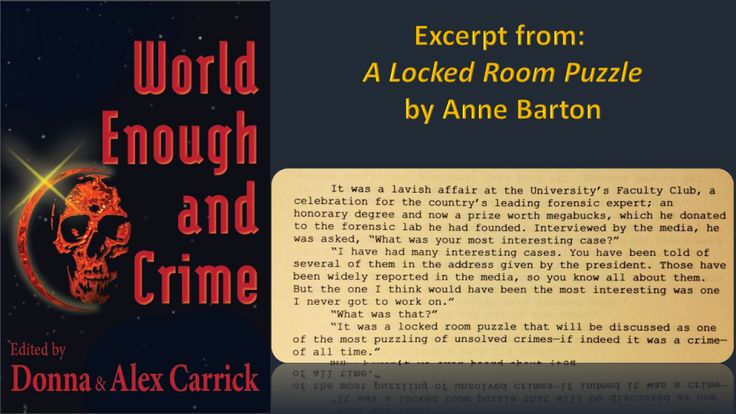 A Locked Room Puzzle by Anne Barton