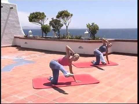 Fitness - Méthodes pilates pour raffermir son corps - YouTube