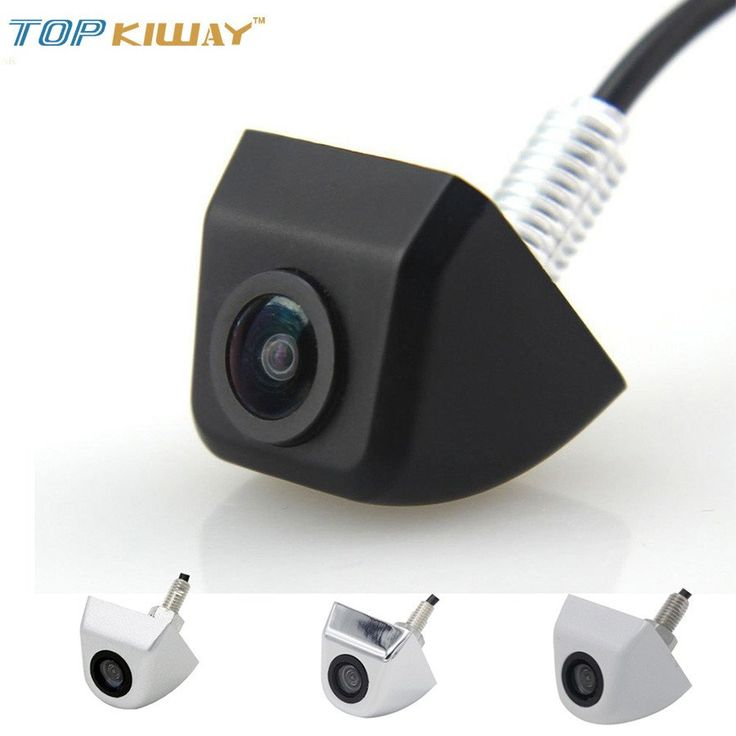 New Waterproof CCD Universal HD Car Rear view BackUp Reverse Parking Camera Front Side View Camera Black Chromed White Silver