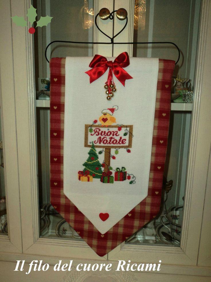 pannello natalizio!!!!!! handmade fatto con il <3
