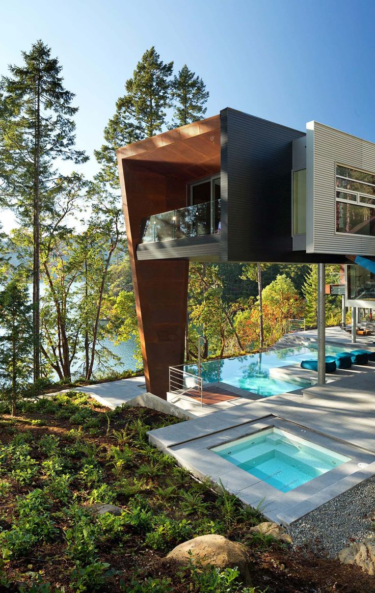 Knife edge pool 2 modern pool - 40 Absolutely Spectacular Infinity Edge Pools