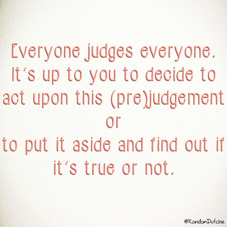 The Good and Bad of Prejudice – randomdutchie
