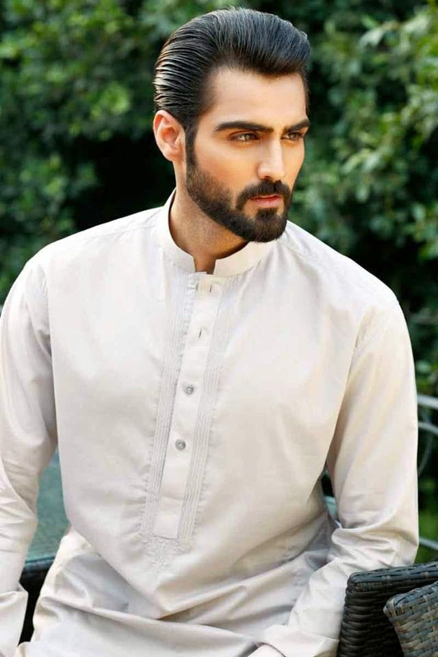 Chen One Menswear Kurta Collection 2014 | Chen One - Damask Men's Eastern Kurta Designs