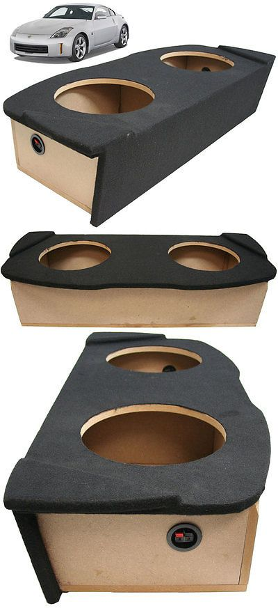 Speaker Sub Enclosures: 03-08 Fits Nissan 350Z Coupe Dual 12 Custom Hatch Subwoofer Enclosure Sub Box -> BUY IT NOW ONLY: $109.95 on eBay!