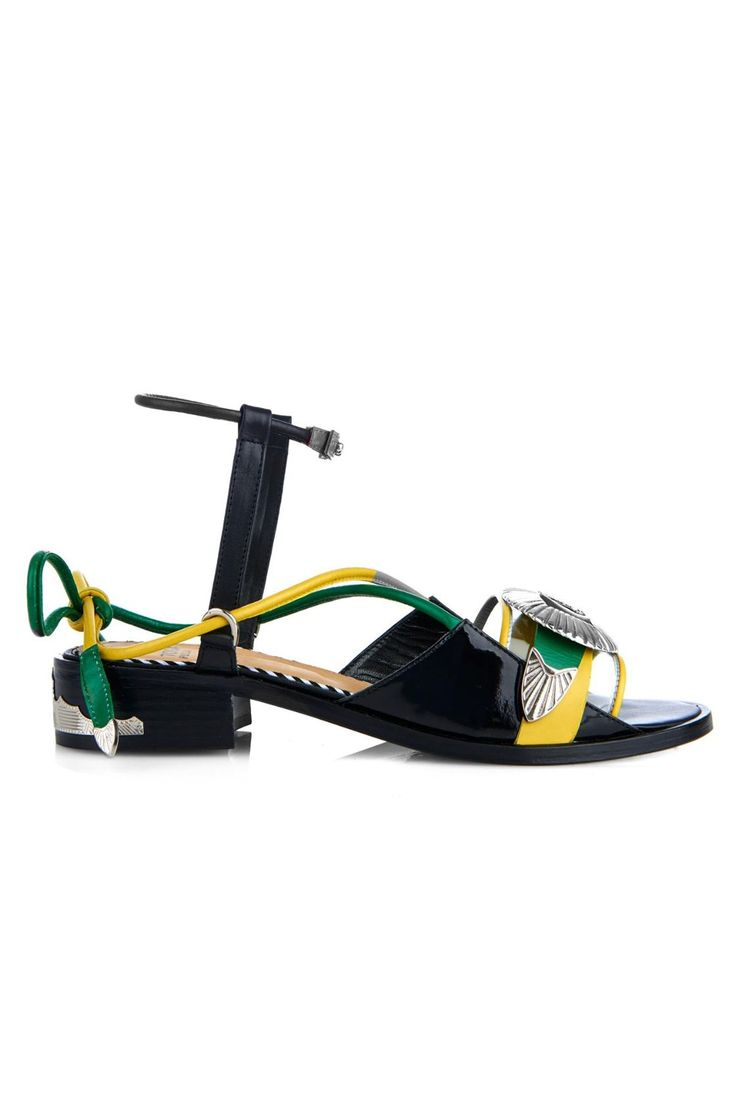 25 Look-At-Me Buys From The Matches Fashion Sale #refinery29  http://www.refinery29.com/matches-summer-sale#slide-19  A zany but perfect summer sandal.