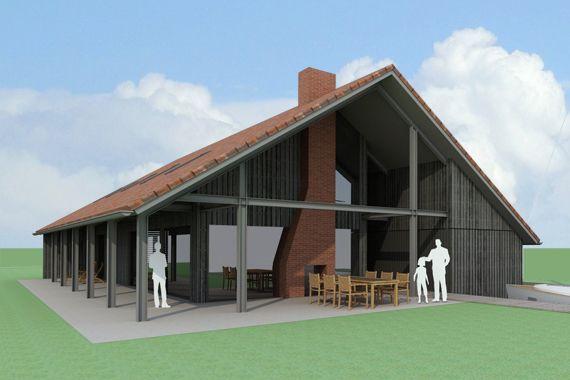 Schuurwoningen on Mountain Modern House Designs
