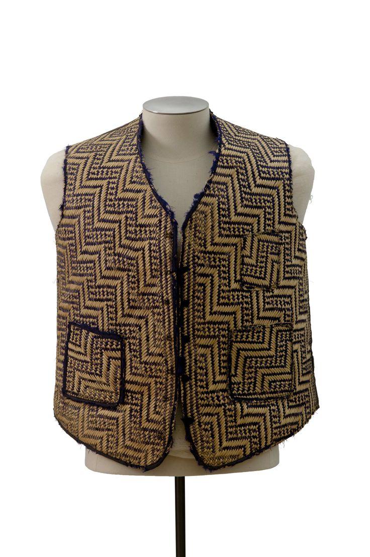Waistcoat, collection of Hawke's Bay Museums Trust, Ruawharo Tā-ū-rangi, 45/209