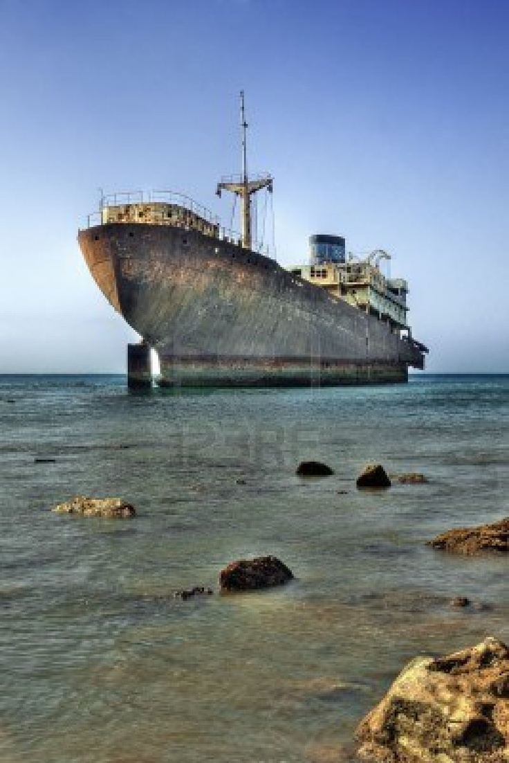 An Old Ship Wreck