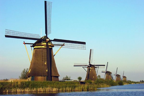 Best Things to do in Rotterdam Netherlands - Dutch windmills