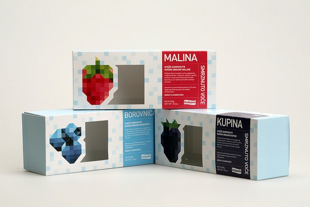 Frozen #Fruit #Packaging