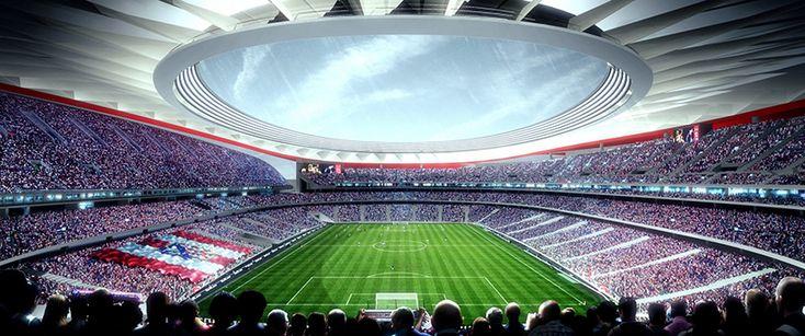 atlético madrid's wanda metropolitano stadium prepares for opening