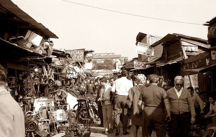 Porta Portese..years back