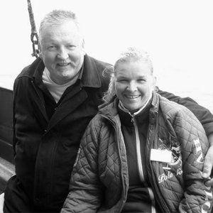 Tamme Hanken (†): Tamme (†) und Carmen Hanken.