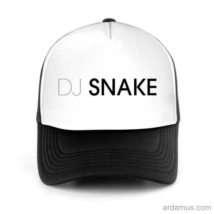 Dj Snake Trucker Hat for men or women. Available color black, red, pink, green. Shop more at ARDAMUS.COM #djtruckerhat #djcap #djsnapback #djhat