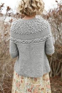 Gray sweater beauty